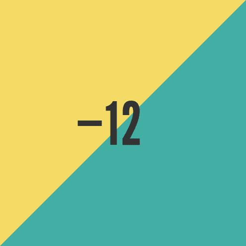 16.4.12 Minus Twelve