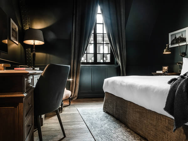 1898 the post ghent design hotel zannier hotels belgium for Designhotel antwerpen