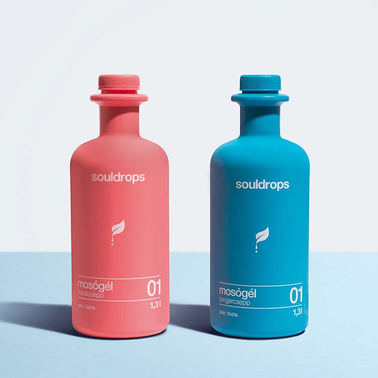 Souldrops Detergent by Réka Baranyi is Winner in Packaging Design Category, 2017 - 2018.