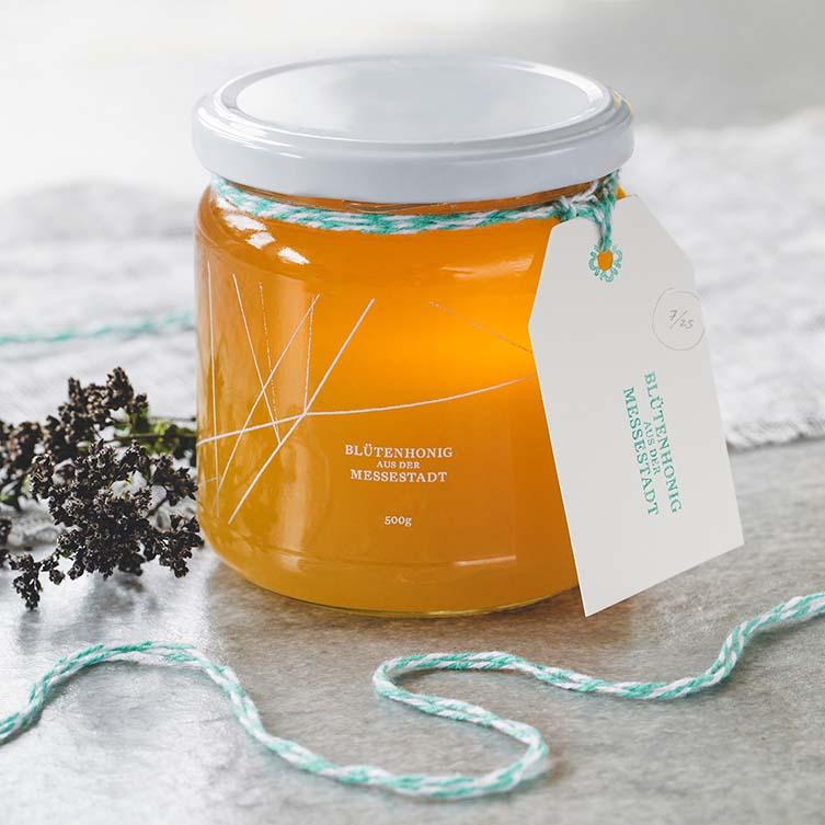 Honey of The Messestadt Packaging by Joel Derksen is Winner in Packaging Design Category, 2017 - 2018.
