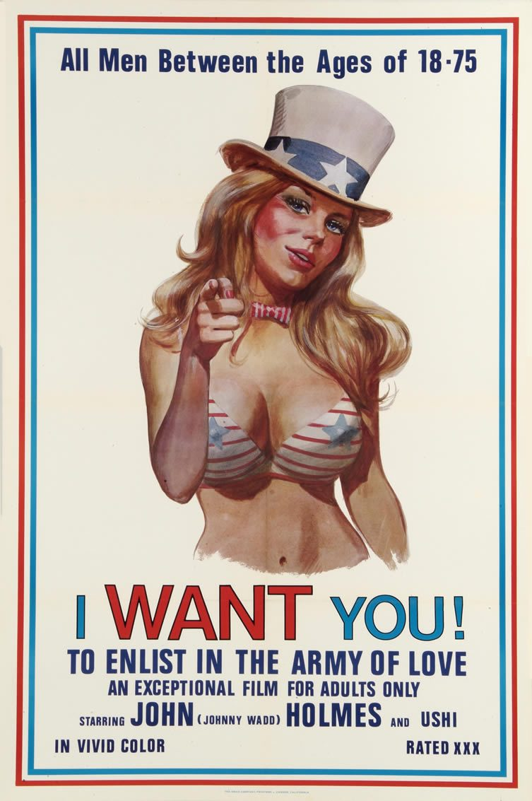 I Want You!, starring John Holmes, 1970