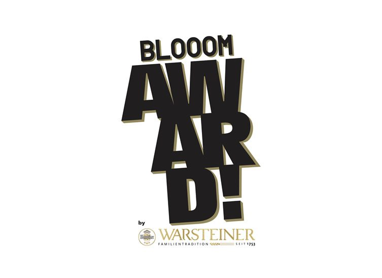 BLOOOM Award by WARSTEINER 2015