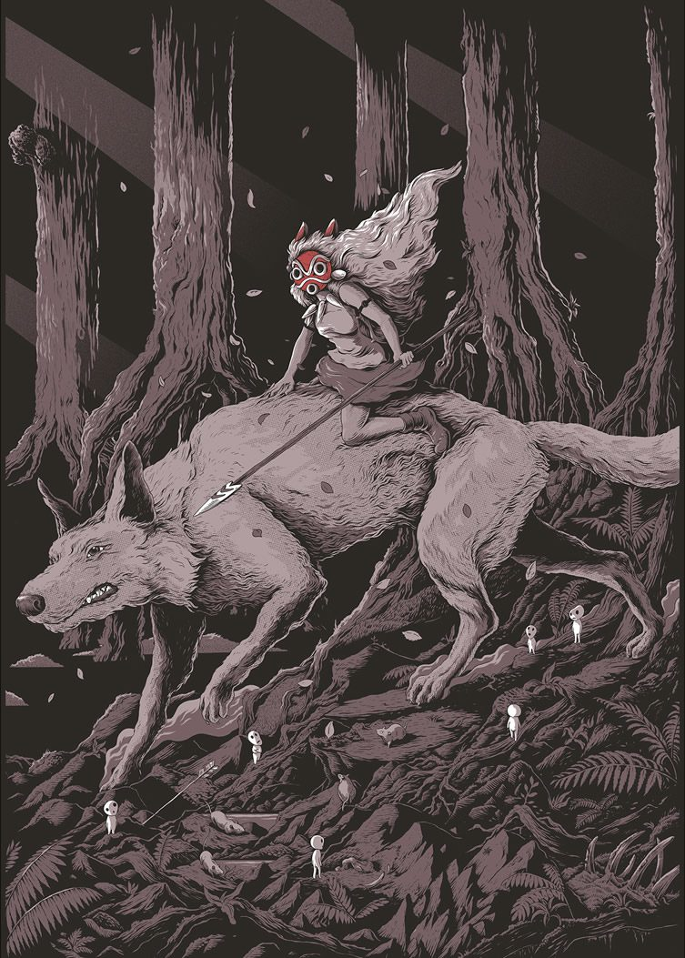 Joe Wilson - Princess Mononoke