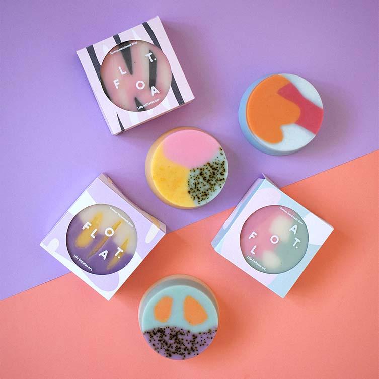 Float. Packaging For Soap by Wang Min, Winner in Packaging Design Category