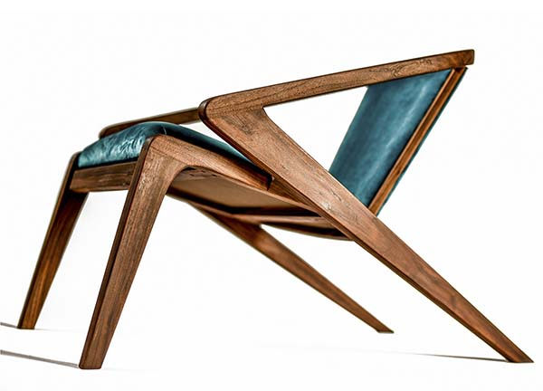 P.r Lounge Chair Lounge Chair by Alexandre Caldas, Winner in Furniture, Decorative Items and Homeware Design Category