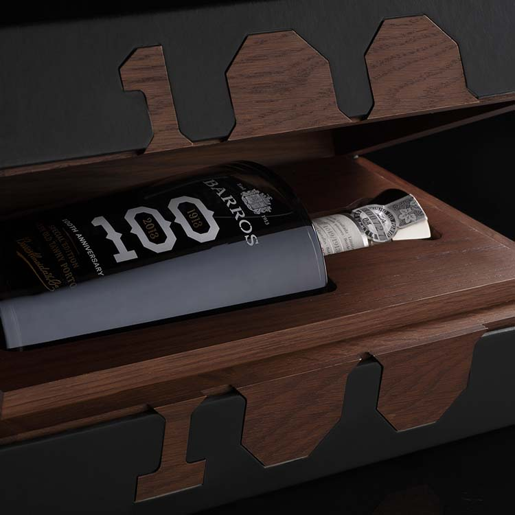 Omdesign are Portugal's most awarded designers with 18 featured award-winning projects; including their Special Edition Porto Barros 100yo Packaging, Luxury Design winner, 2015—2016