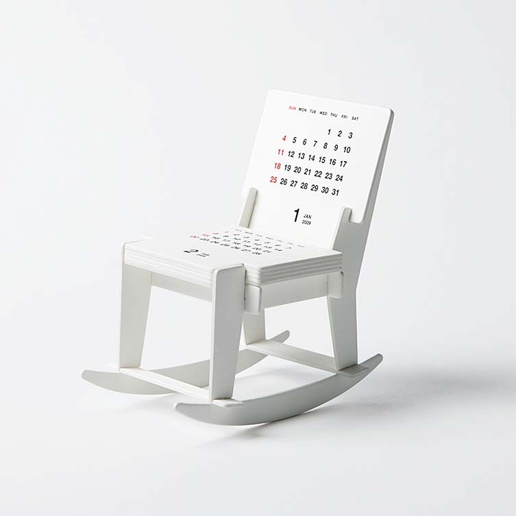 Katsumi Tamura is Japan's most awarded designer with 44 featured award-winning projects; including his Rocking Chair Calendar, Graphics and Visual Communication Design winner, 2012—2013