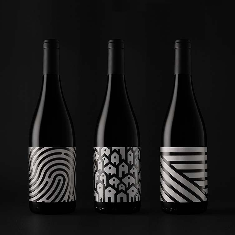 Adaras Organic Wine Wine Family by Estudio Maba is Winner in Packaging Design Category, 2018 - 2019.