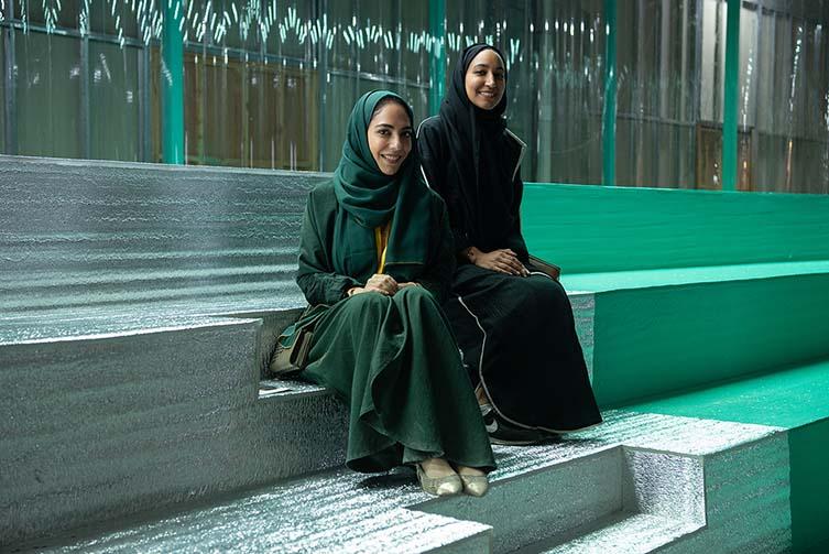 The design agency behind Saudi Design Week's happy branding