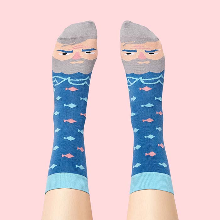 2020 Christmas Gift Guide for Creatives and Lifestyle Obsessives: ChattyFeet, Literature Sock Set