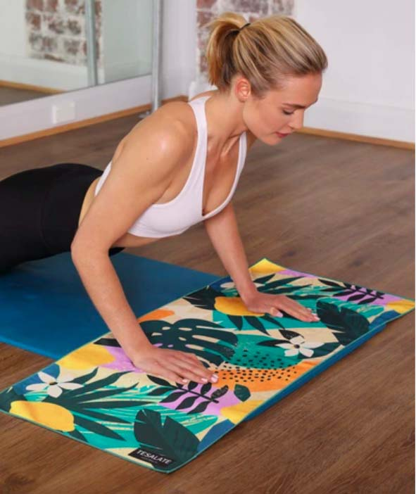 2020 Christmas Gift Guide for Creatives and Lifestyle Obsessives: Tesalate Workout Towel