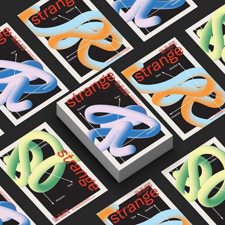Strange Poster Series by Danyang Ma