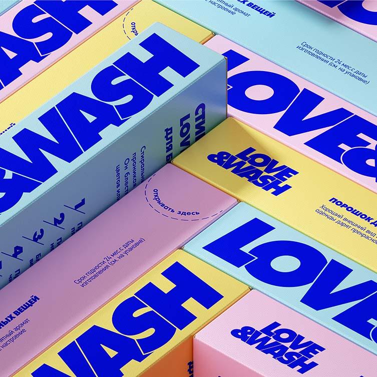Love&wash Packing by Alexander Cherkasov