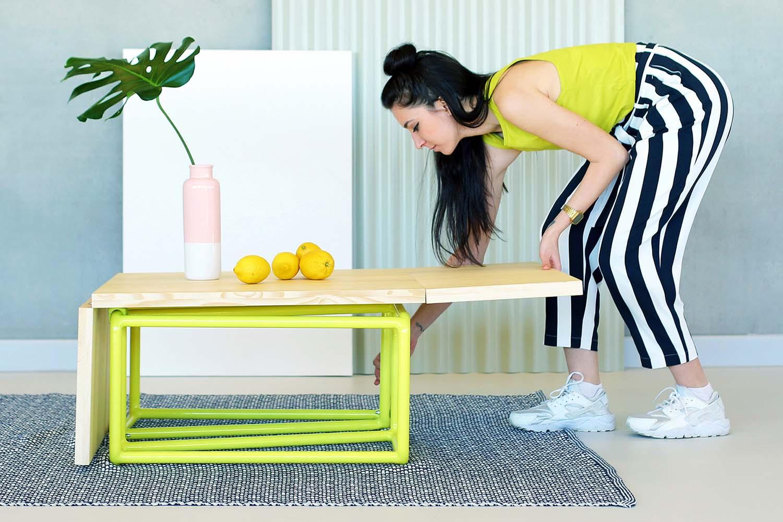 Mubic Modular Table by Katalin Brigitta Csiki is Winner in Furniture Design Category, 2020 - 2021.