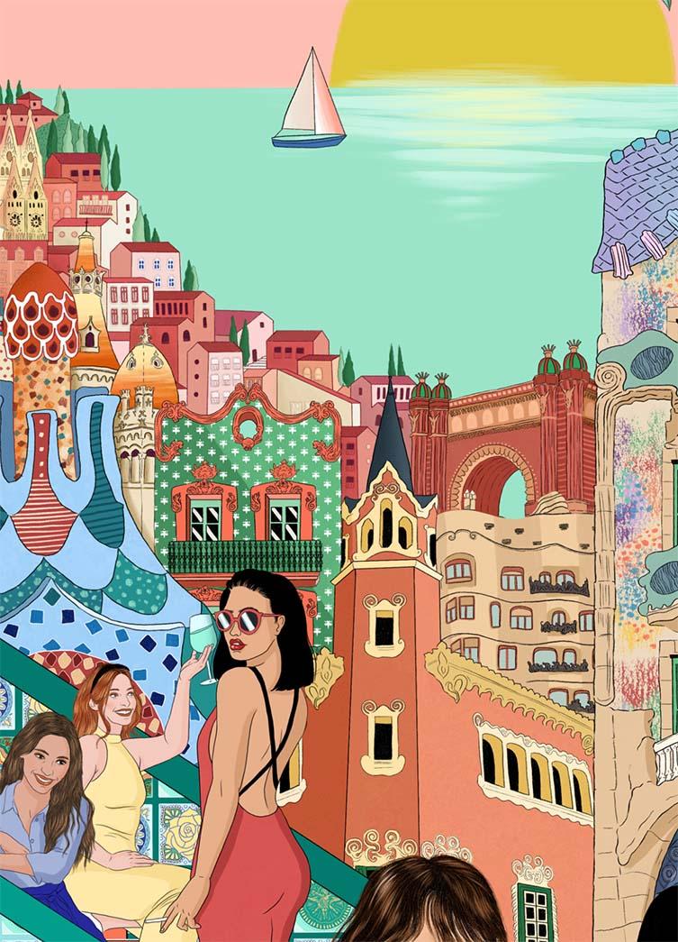 Cities rethought: Roxanne Dewar (Barcelona)