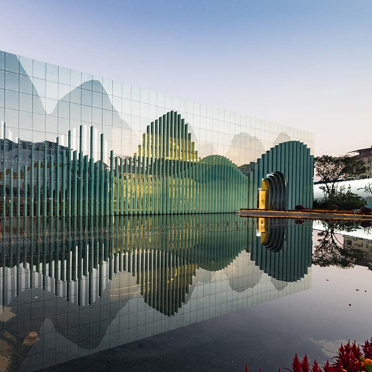 Guilin Exhibition Center by Tengyuan Design is Winner in Architecture, Building and Structure Design Category, 2019 - 2020.
