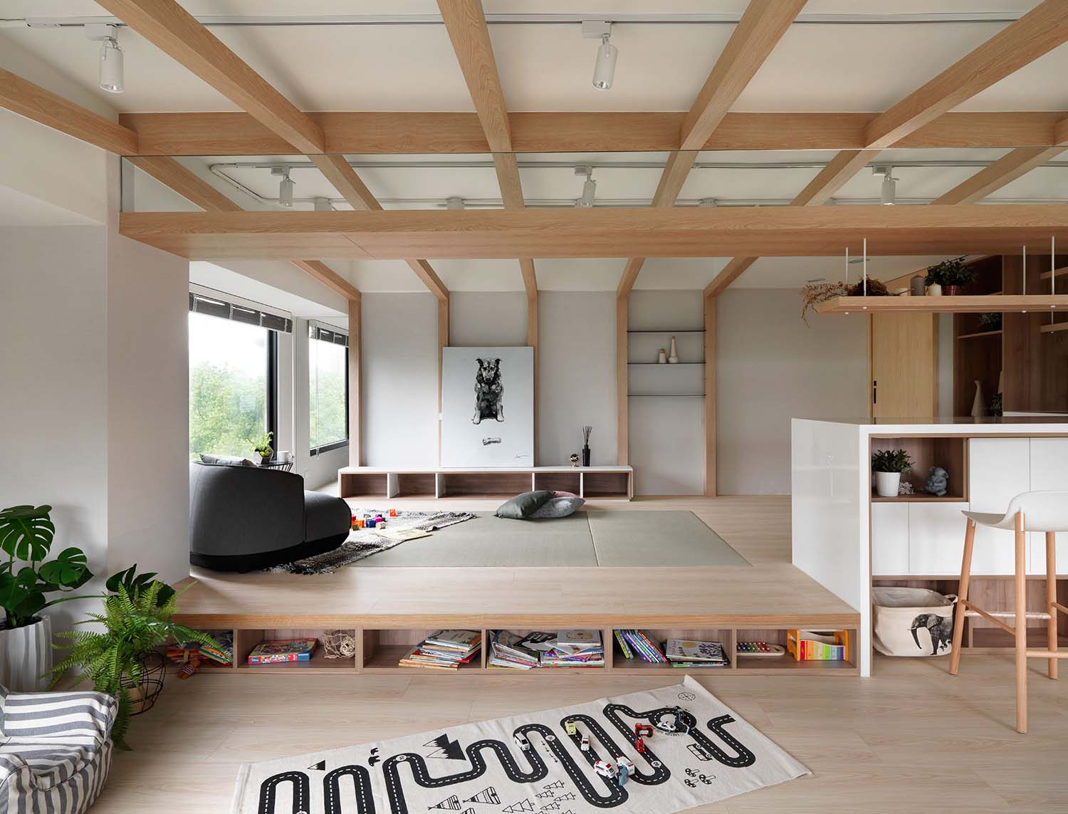 After School Shared Residential Space by Tsung-Ju Lu and Lin Tsai-Wen is Winner in Interior Space and Exhibition Design Category, 2019 - 2020.