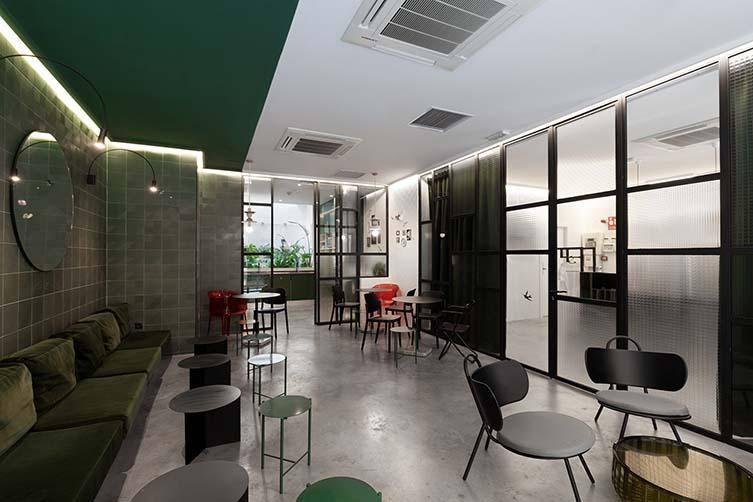 2060 The Newton Hostel & Market Madrid, Plaza Tirso de Molina Design Hostel