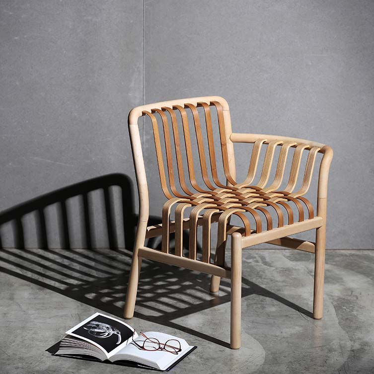 Lattice Chair Weaving Armchair by Chen Kuan-Cheng; Winner in Furniture Design Category, 2020—2021