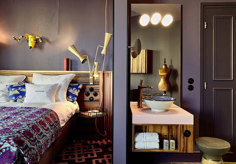 25hours Hotel Terminus Nord, Paris Design Hotel by Axel Schoenert Architectes