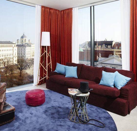 25 hours hotel vienna we heart lifestyle design magazine for Design hotel 25 hours vienna