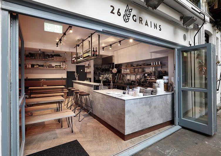 26 Grains London Neal S Yard Hygge Themed Restaurant