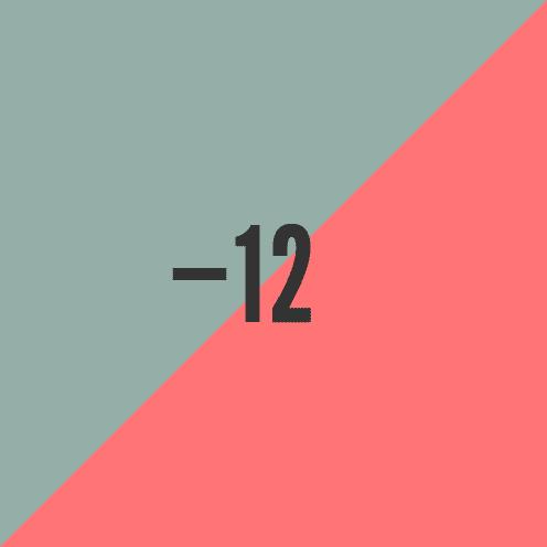 30.4.12 Minus Twelve