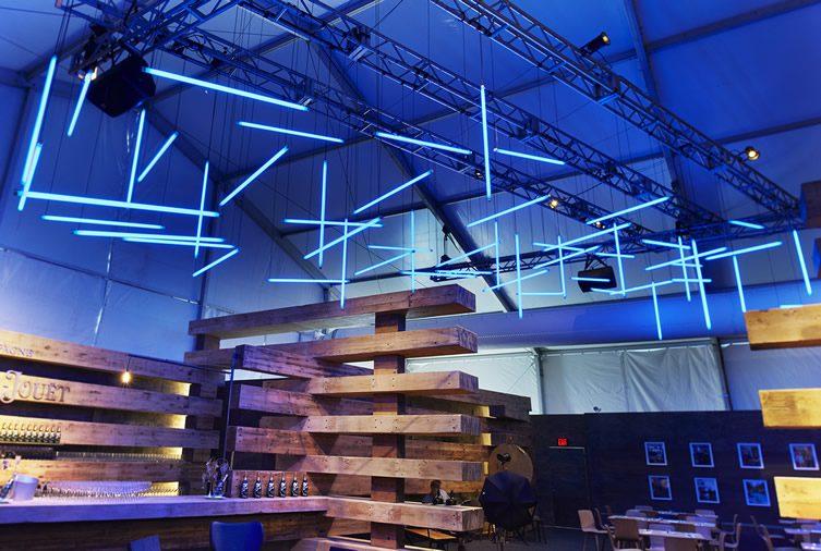 38 Beams Collector's Lounge — Design Miami/