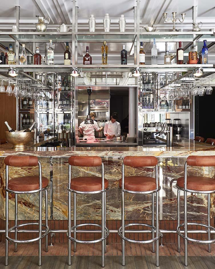 Paris Restaurant Designed by Studio Lizée-Hugot