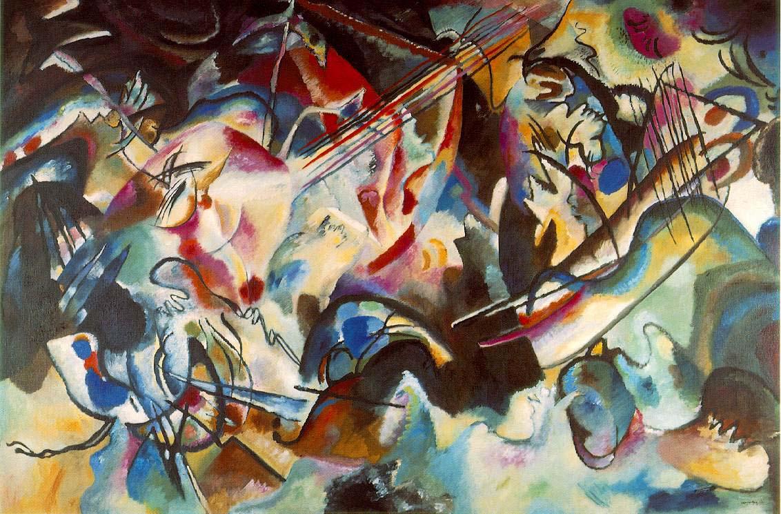 Vassily Kandinsky, 1913: Composition 6