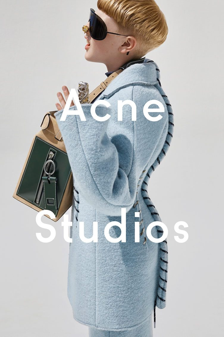 Acne Studios Väska : Viviane sassen for acne studios fall winter