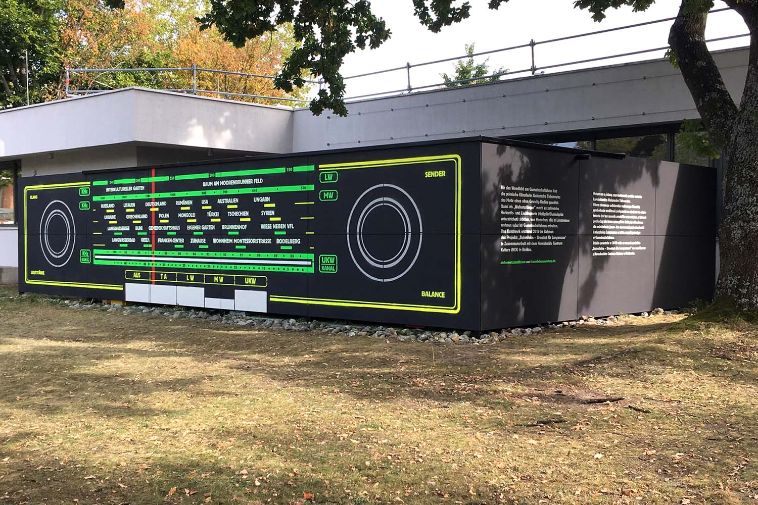 Radiomural District Identity and Mural by Aleksandra Toborowicz is Winner in Cultural Heritage and Culture Industry Design Category, 2019 - 2020.