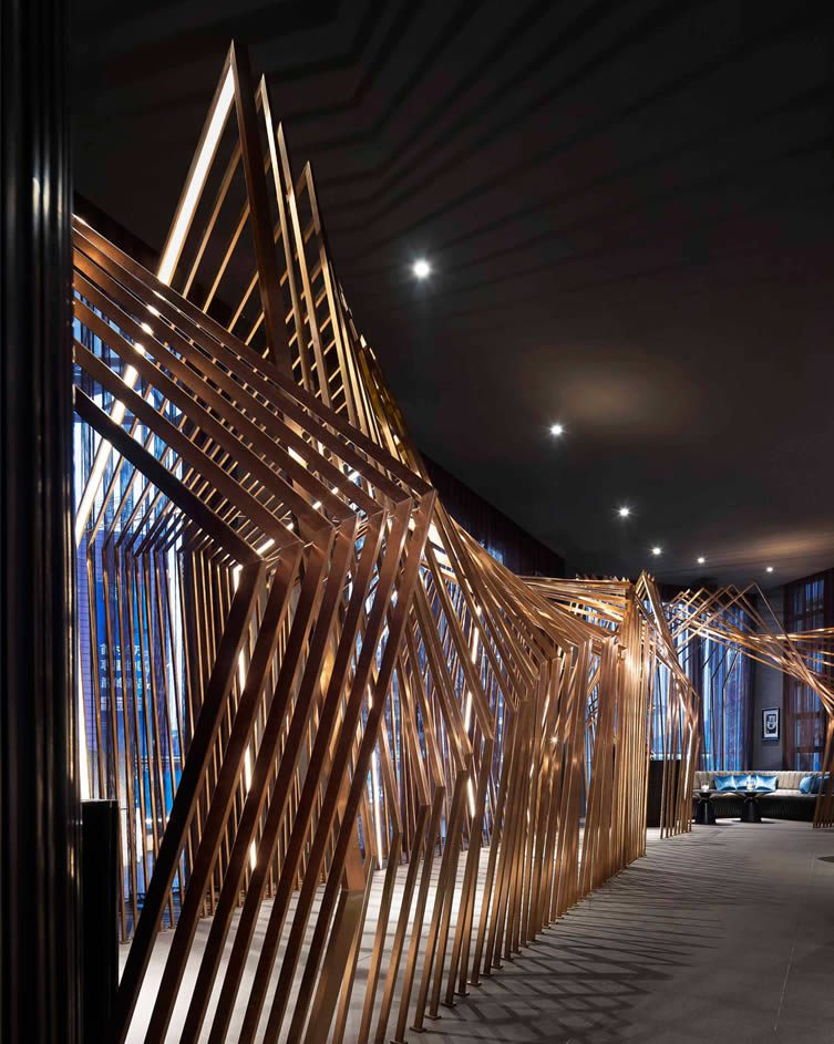 Copper Whiskey Bar & Lounge by PTANG STUDIO LIMITED