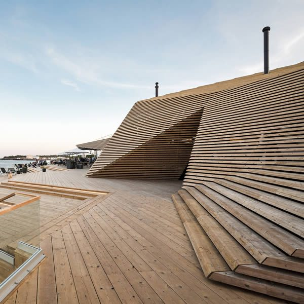 Loyly Public Sauna and Restaurant: A' Design Awards & Competition 2017 Winners