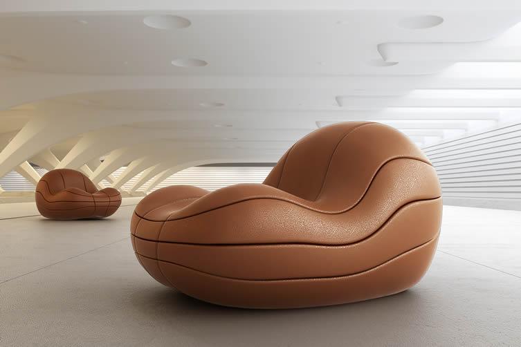 Basquete Lounge Chair by Felipe Bezerra + André Gurgel