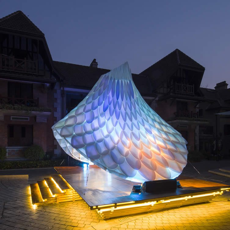 Resonet Pavilion-Sinan Mansions Pavilion by William Chen-Creative
