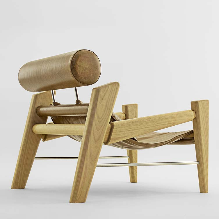 Serfa Plus Armchair and Footstool by Zanini De Zanine is Winner in Furniture, Decorative Items and Homeware Design Category, 2017 - 2018