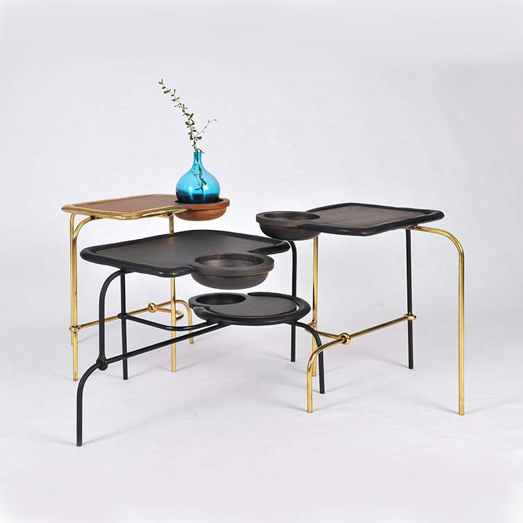 Compound Table Set Coffee Table and Side Table by Apiwat Chitapanya is Winner in Furniture, Decorative Items and Homeware Design Category, 2017 - 2018