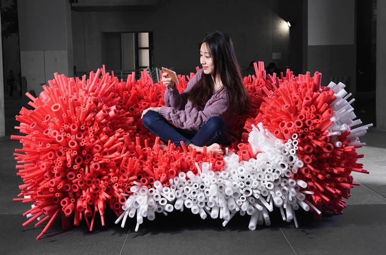 Anemone Sofa by Yi-Xuan Lee