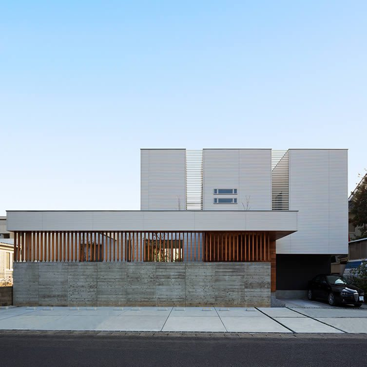 N8-house [ House of III-BOX ] Residential House by Masahiko Sato