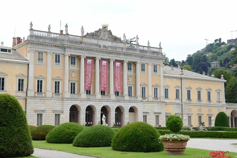 The A' Award & Competition Gala Night and Award Ceremony at Villa Olmo, Como, Italy
