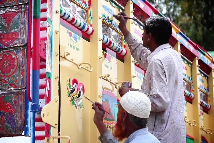 Truck Art Video Documentary by Directed by Madiha Rana