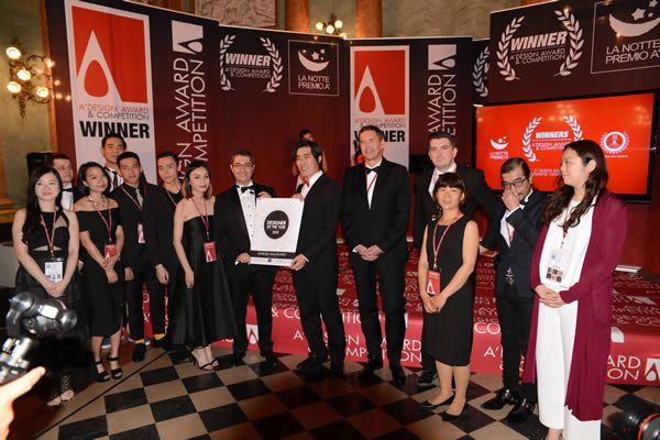 The A' Award & Competition Gala Night and Award Ceremony at Villa Olmo, Como, Italy