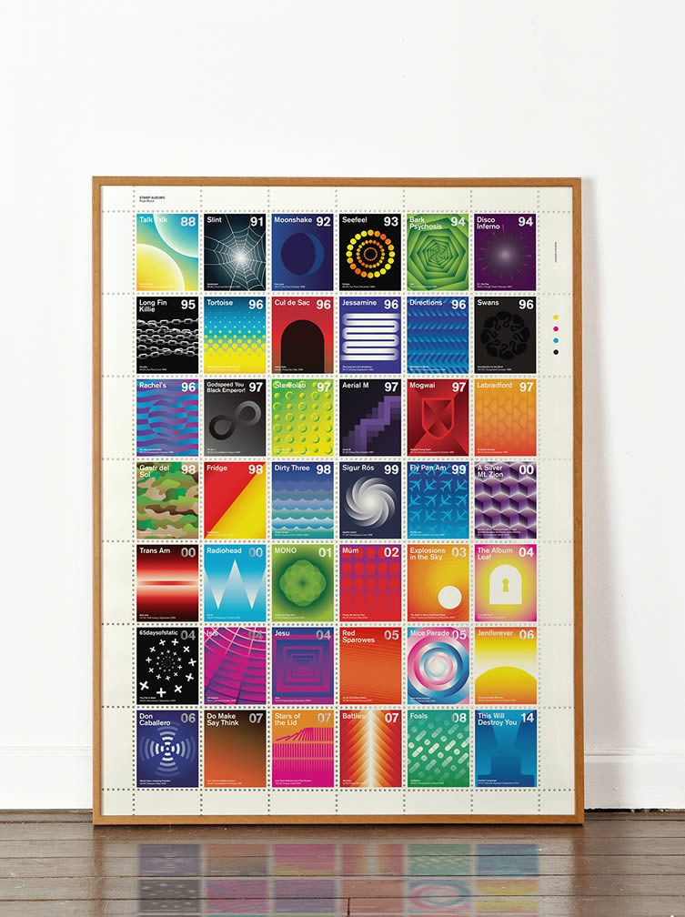 Stamp Albums: Post-Rock