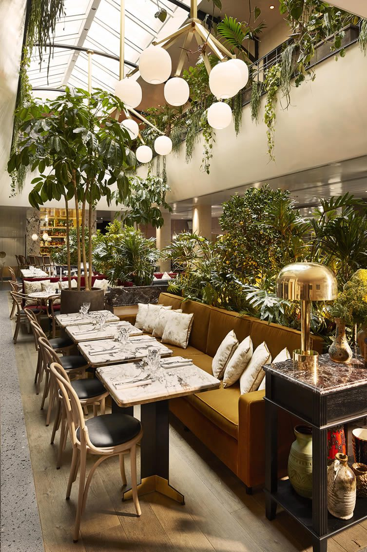 Restaurant Alcazar Paris