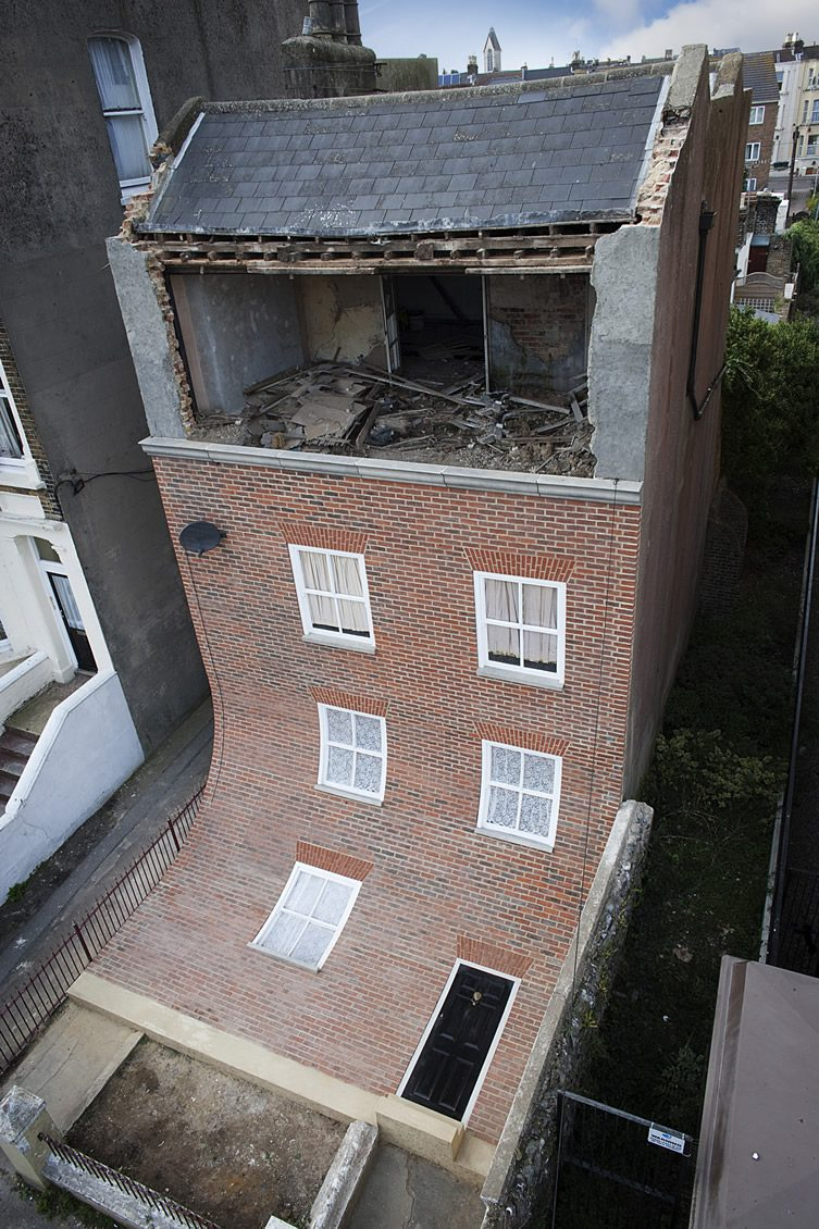 Alex Chinneck — Margate House Installation