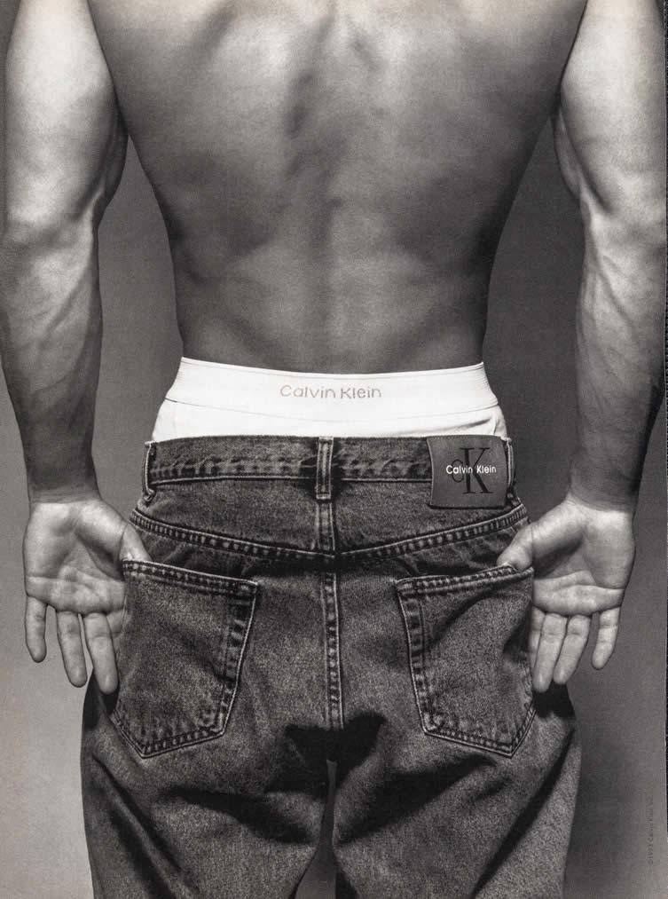 Calvin Klein, 1992. Courtesy TASCHEN