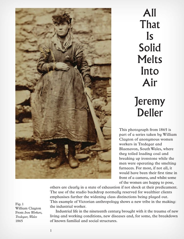 All That Is Solid Melts Into Air – Jeremy Deller
