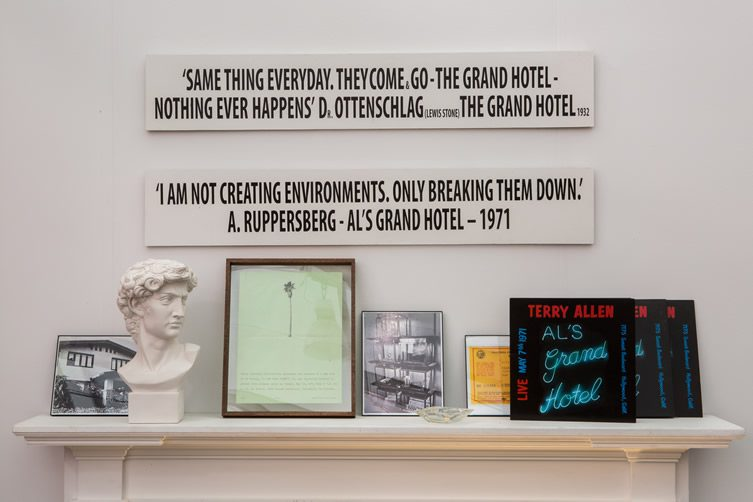 Al's Grand Hotel Recreated — Frieze Projects 2014, New York