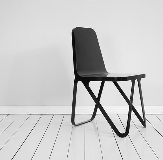 Aluminium Chair, Peter Scherer